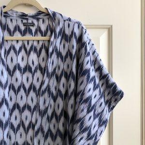 Earthbound Trading printed kimono